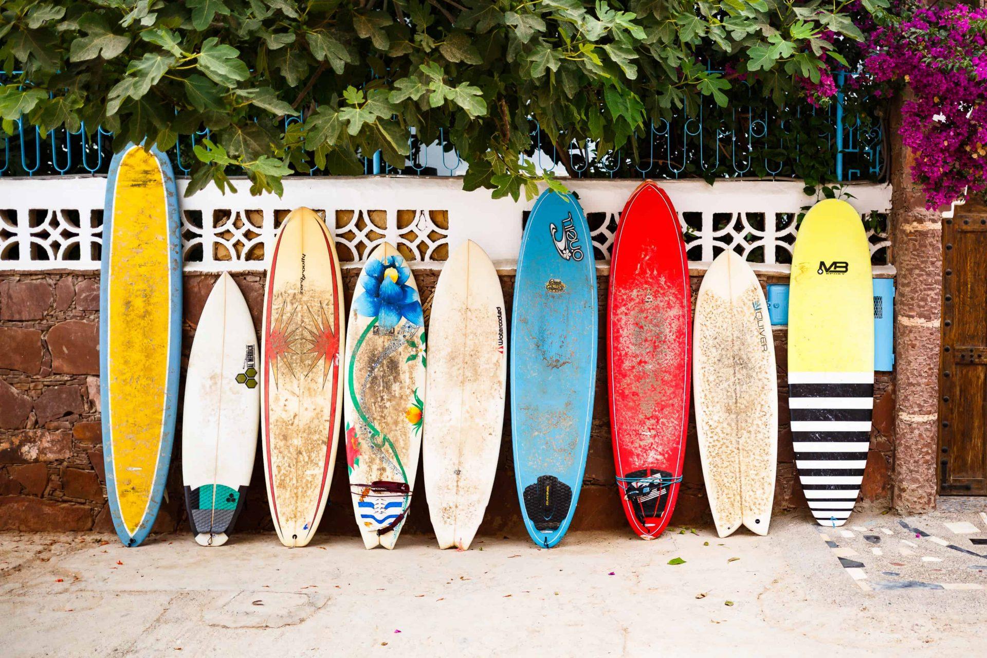 Anfänger surfkurs surfbrett