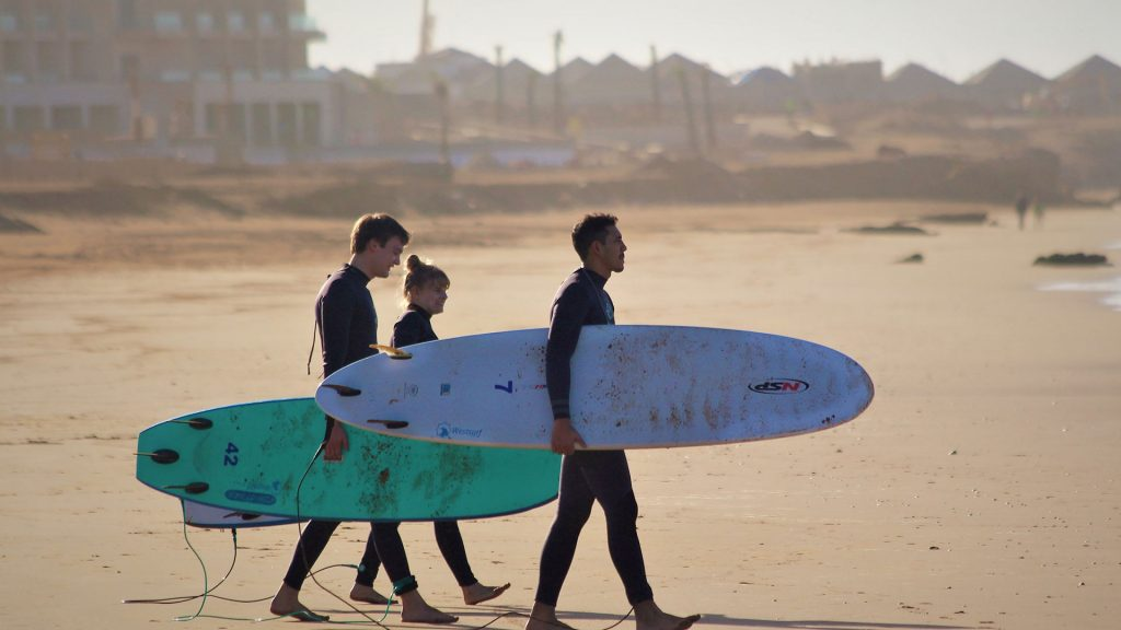 Marokko surfen lernen