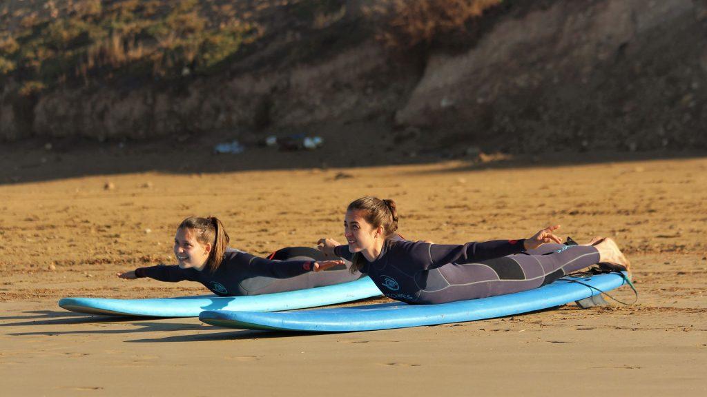 lernen surfen Marokko
