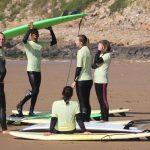 Anfänger surfkurz Marokko