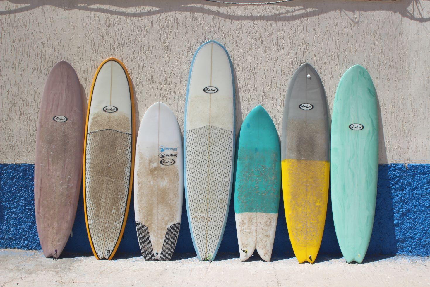 Surfbretter Marokko
